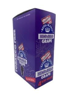 Royal Blunts Hemparillo Blueberry - 15 Packs Per Box 4 Wraps Per Pack - (1 Count)