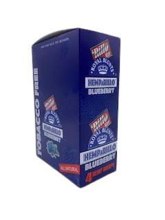 Royal Blunts Hemparillo Grape - 15 Packs Per Box 4 Wraps Per Pack - (1 Count)
