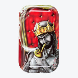 Royal Highness King Metal Rollin' Tray Small