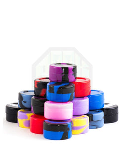 Silicone Jars 2 Pack All Colors