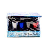 Special Blue Bernie Lighter 12pc Display - Assorted Colors Flower Power Packages Metal