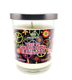 Special Blue Odor Eliminator Candle -Berry Pie