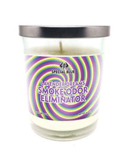 Special Blue Odor Eliminator Candle -Lavender Dreams Flower Power Packages
