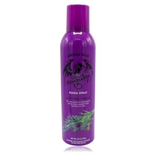 Special Blue Odor Eliminator Spray 6.9 Oz Lavender Dreams (12 Count) Flower Power Packages