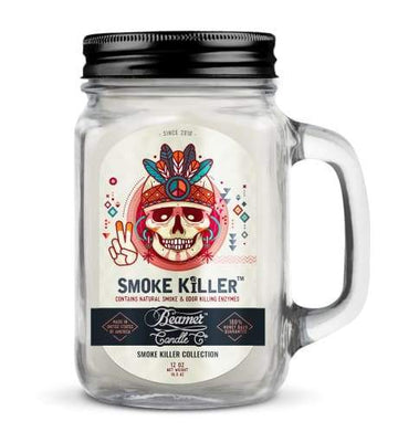 Tommy Chong Candle-Smoke Killer Collection 12oz Mason Jar