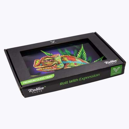 V-syndicate- Cloud 9 Chameleon Rollin' Tray Flower Power Packages