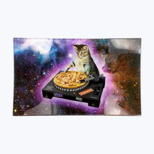 V-syndicate- Pussy Vinyl Glass Rollin' Tray Flower Power Packages