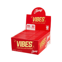 Vibes Papers Box Hemp King Size Slim at Flower Power Packages