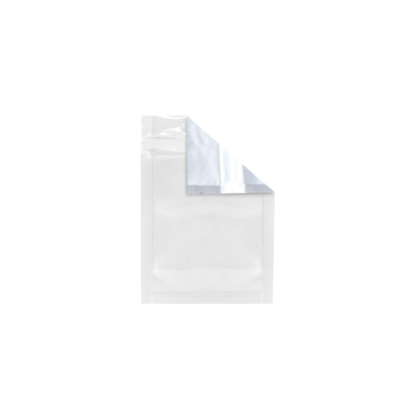 Mylar Bag Tear Notch Clear White 1G 1000 COUNT at Flower Power Packages