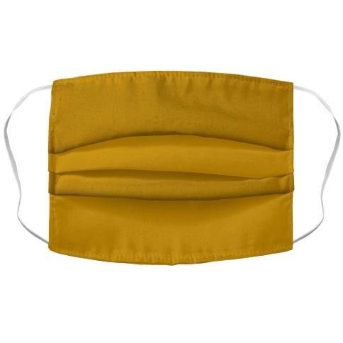 Yellow Ocher Face Mask Cover Flower Power Packages