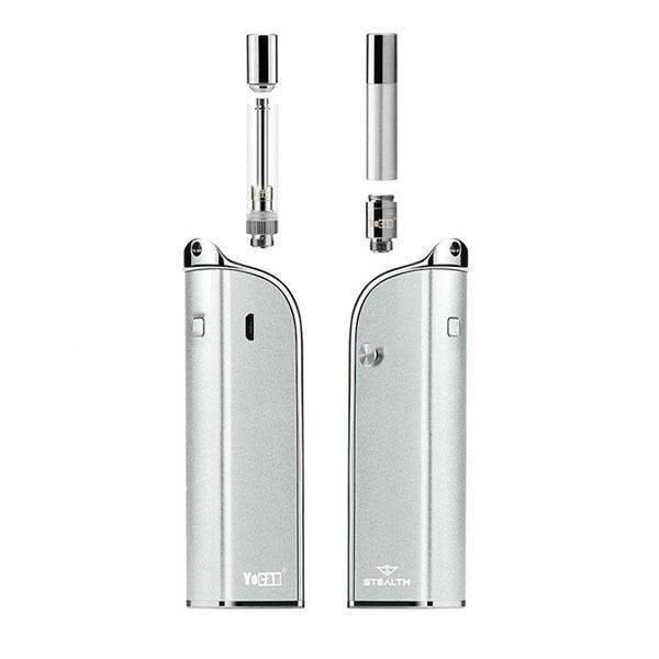 Yocan Stealth 2-in-1 Cartridge Style Flip-Top Vaporizer at Flower Power Packages