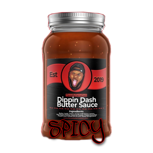 NEW SPICY DIPPIN DASH BUTTER SAUCE 16oz (SMALL)*PLEASE READ (7- 14 Business days to process) Preorder
