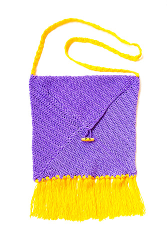 Lilac Sunshine Envelope Satchel