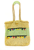 Beach Party Pom-Pom Tote