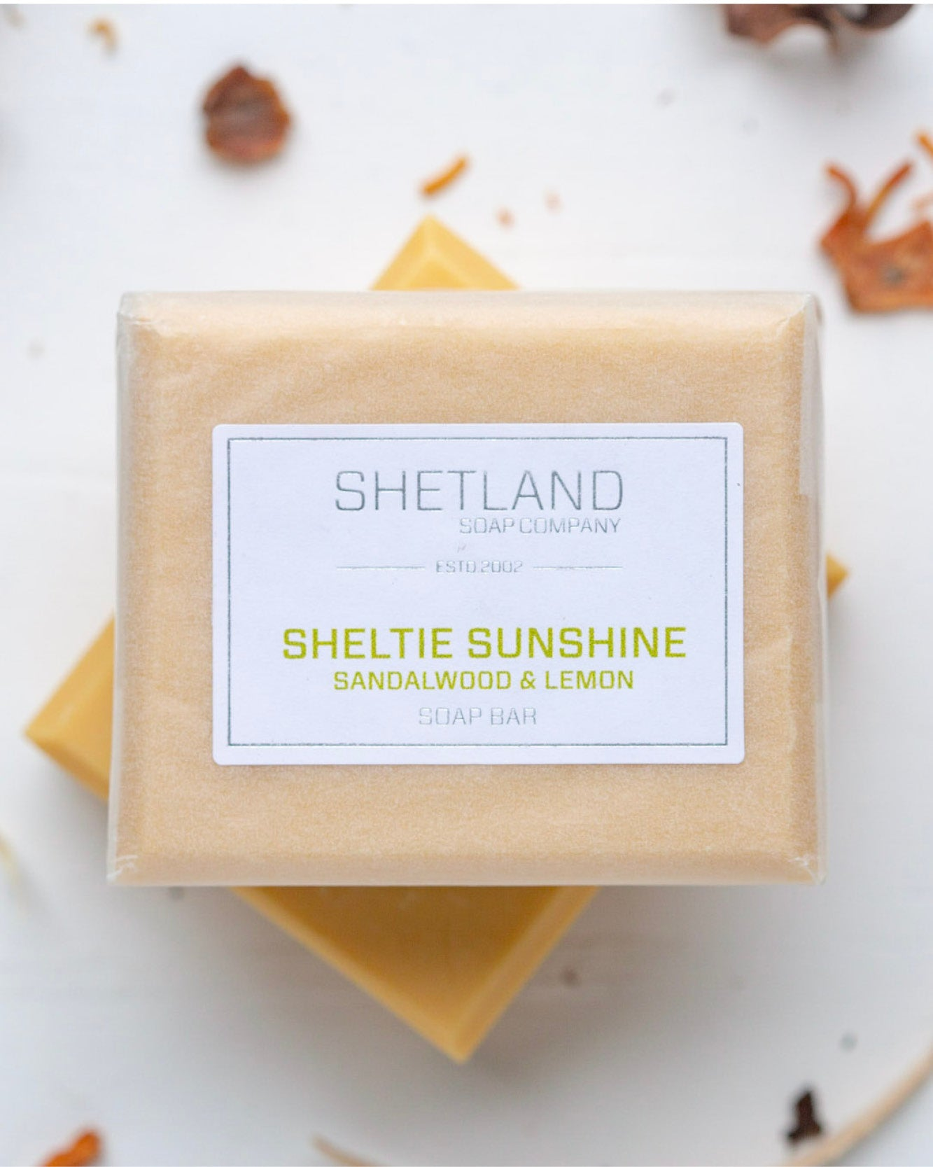 SHELTIE SUNSHINE SOAP BAR