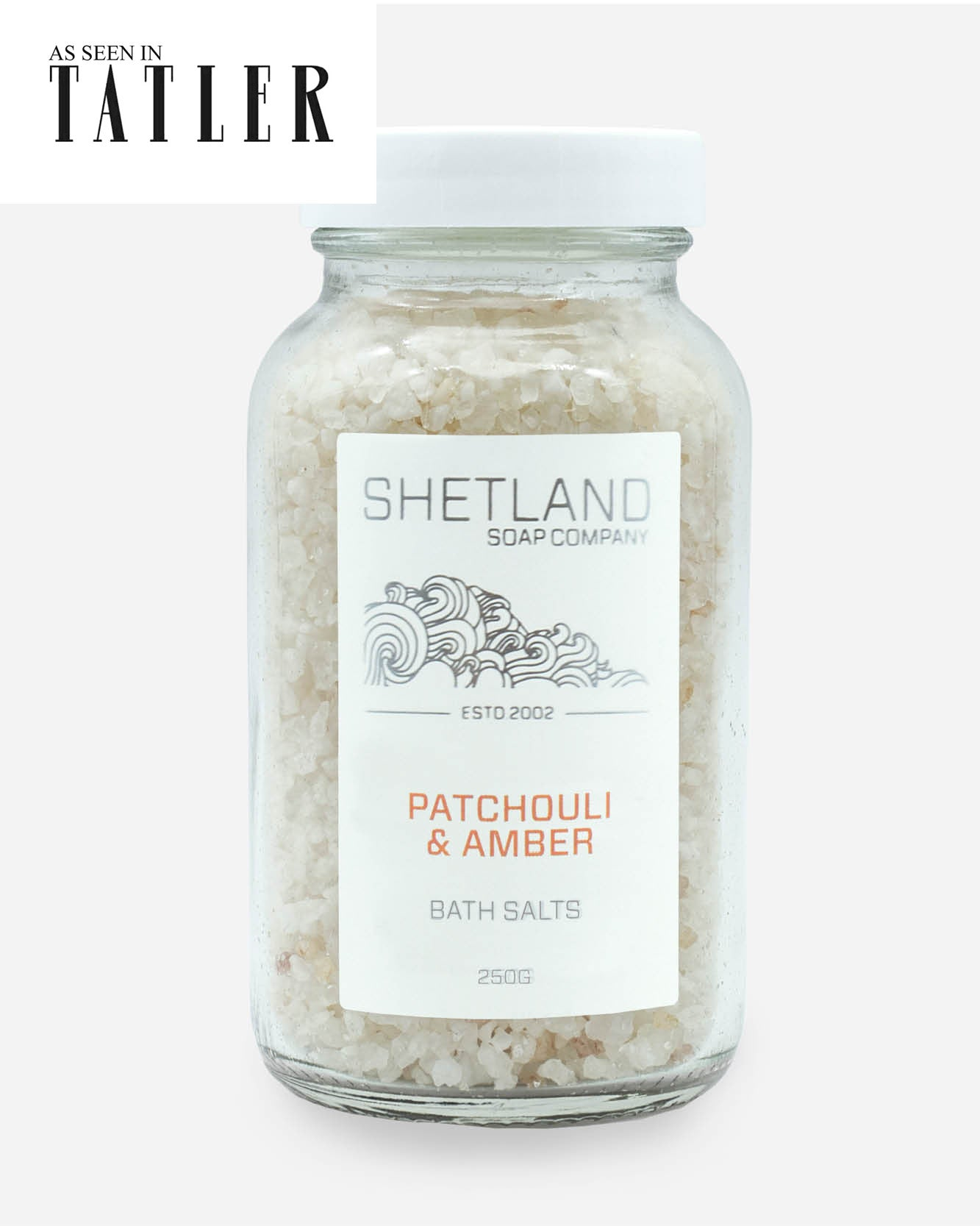 PATCHOULI & AMBER BATH SALTS