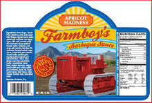 Load image into Gallery viewer, Farmboys Apricot Madness BBQ Sauce