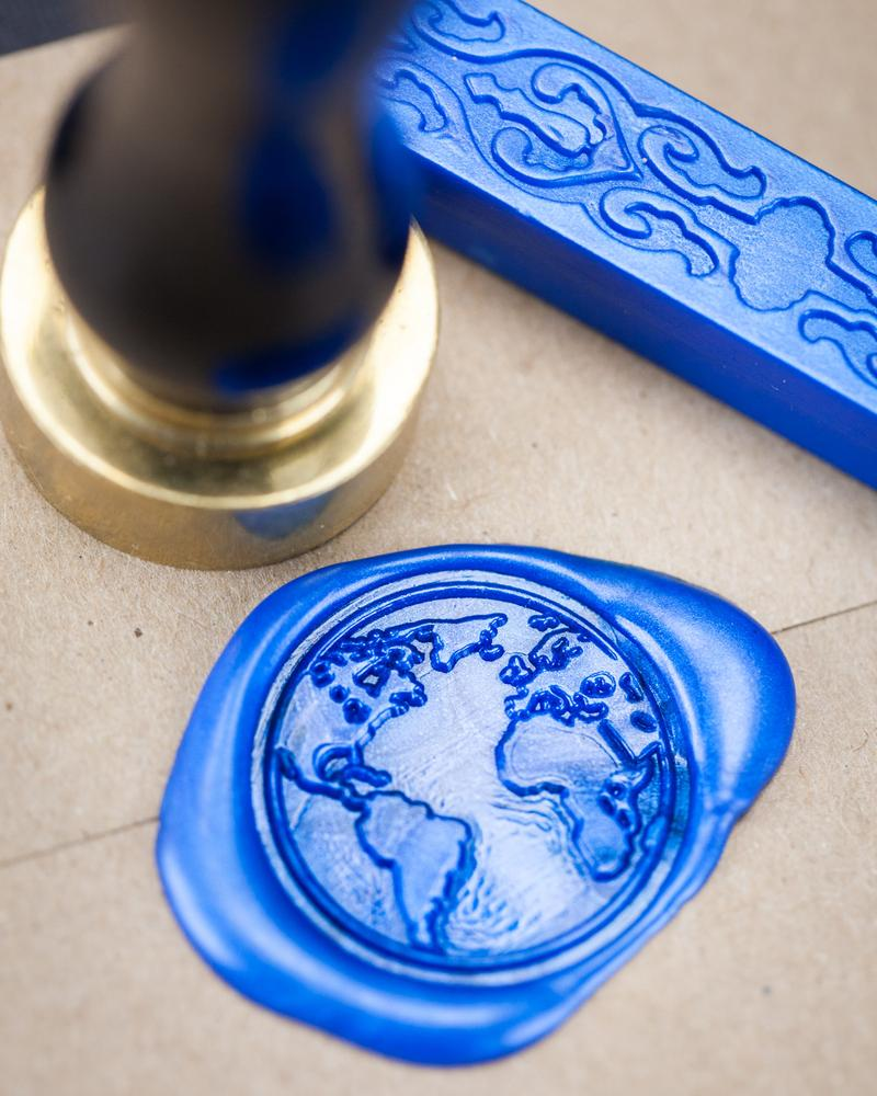 Planet Earth Wax Seal Kit