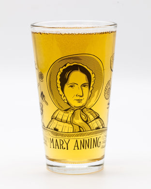 Mary Anning Pint Glass