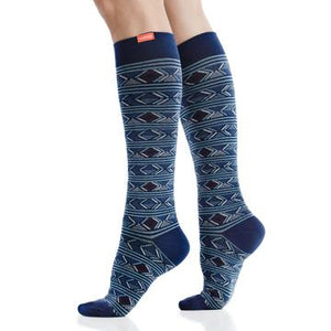 Diamond Deco Compression Socks