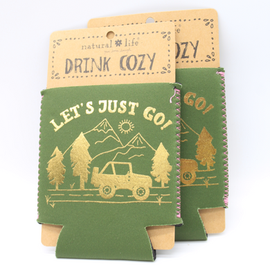Drink Cozy Let's Just Go