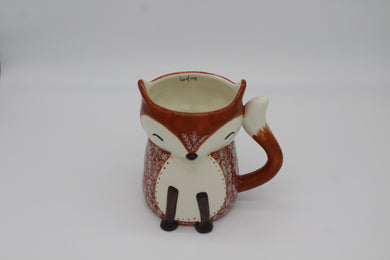 Folk Mug Cozy Fox