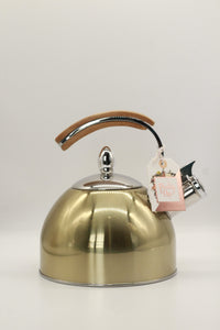 Presley Gold Tea Kettle