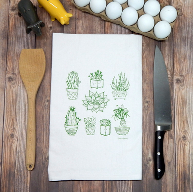Succulents Towel