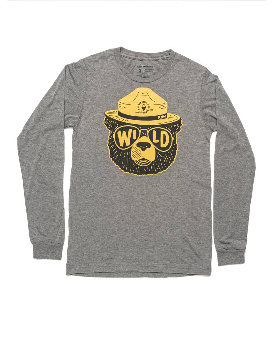Wildbear Unisex Long Sleeve | Deep Gray