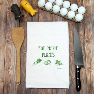 Eat More Plants Towel