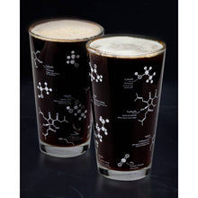 Load image into Gallery viewer, The Science of Beer Pint Glass (Pair) - Gift Box Damaged