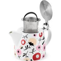 Load image into Gallery viewer, Harper Ceramic Teapot & Infuser In Posy Pattern