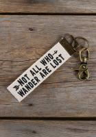 Canvas Key Fob Who Wander