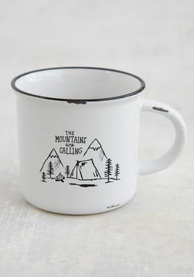 Camp Mug The Mountains Are Calling