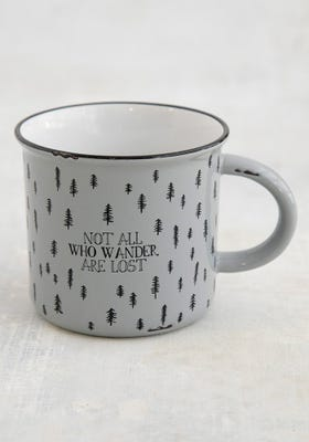 Camp Mug Not All Who Wander