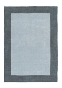 Fine Stripes Collection Grey luxurious rug