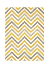 Cabone Collection Ochre luxurious rug
