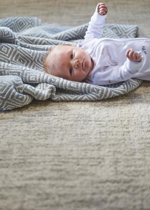 Country Tweed Collection Oyster luxurious rug