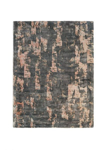 Elements Collection elderberry luxurious rug