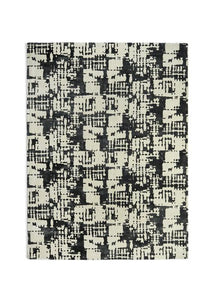 Elements Collection jet ivory luxurious rug