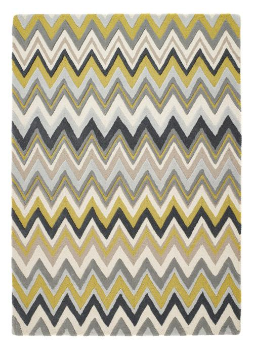 Monaco Collection Ochre luxurious rug