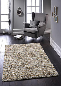 Rocks Saggy Collection Neutral  luxurious rug