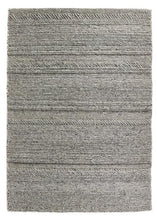 Chunky Knit Collection Grey luxurious rug
