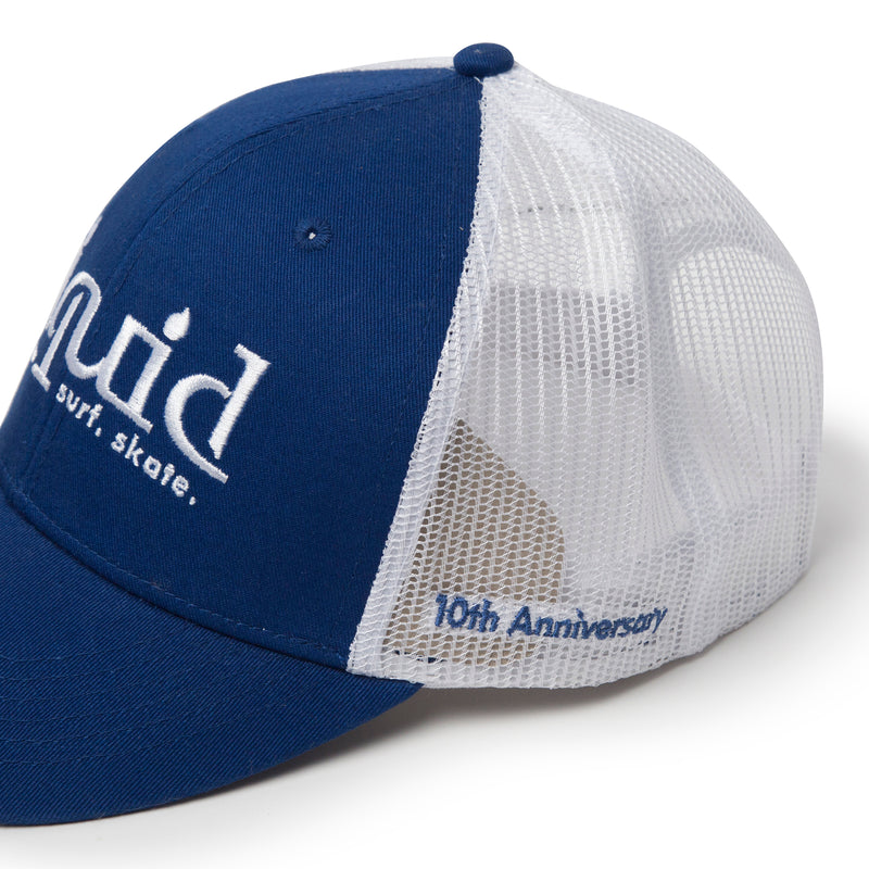 Liquid 10th Anniversary Trucker