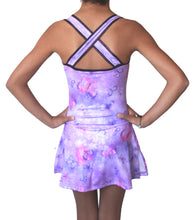 Load image into Gallery viewer, Figure skating dress lila butterfly