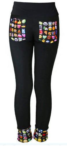 Emoji Figure Skating Pants
