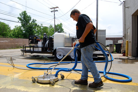 Mobile Wash Trailer Pressure Washer Equipment Recycling
