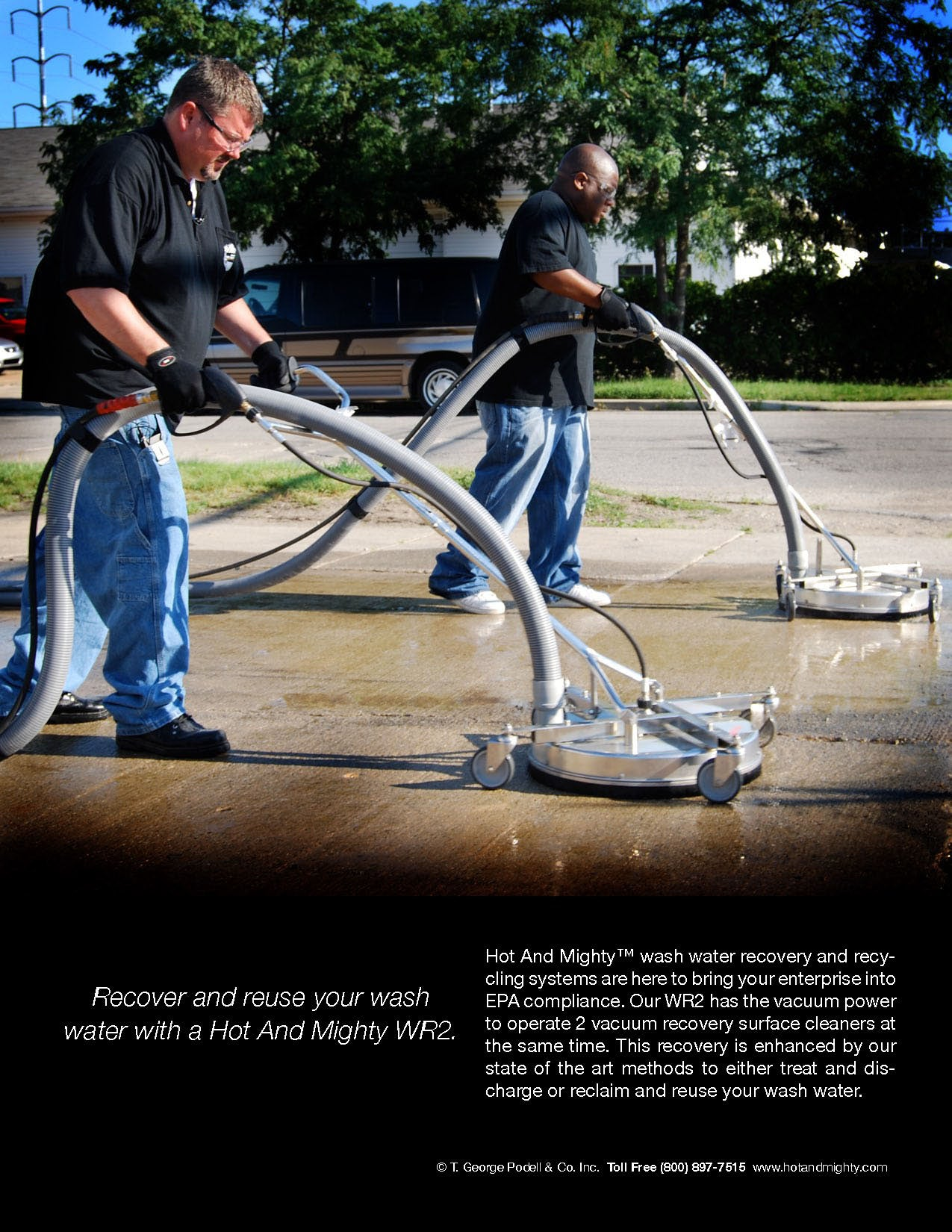 Enclosed Pressure Washer Trailer Packages