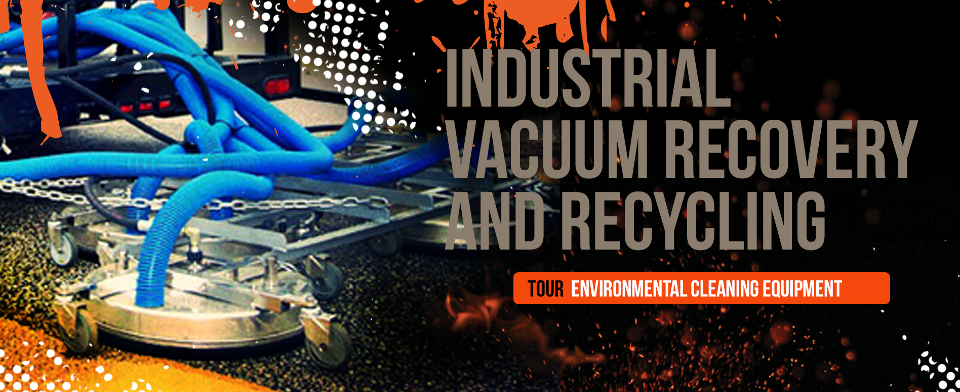 Pressure Washer Vacuum Recovery And Recycling Equipment