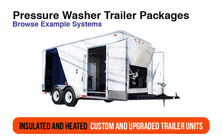 Enclosed Pressure Washer Trailers